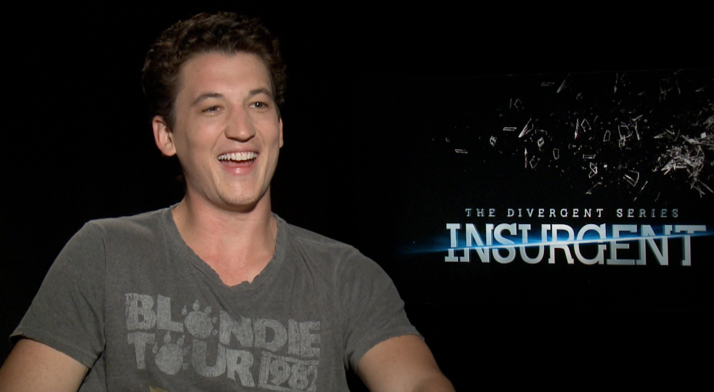 miles teller insurgent scott carty in my second interview miles teller fresh off all the buzz for his amazing performance in whiplash i had to bring him a gift